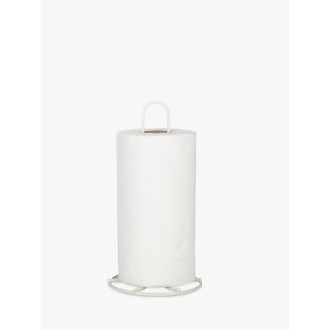 Buy John Lewis Kitchen Roll Holder, Cream Online at johnlewis.com