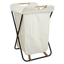 Buy John Lewis Brooklyn Laundry Hamper Online at johnlewis.com