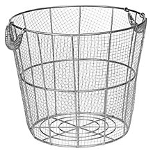 Buy John Lewis Brooklyn Wire Mesh Round Basket Online at johnlewis.com