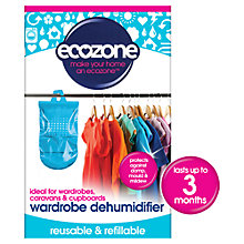 Buy Ecozone Wardrobe Dehumidifier Online at johnlewis.com