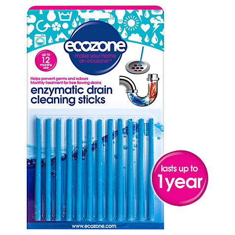 Buy Ecozone Drain Sticks, Pack of 12 Online at johnlewis.com