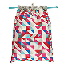 Buy House by John Lewis Mosaic Laundry Bag Online at johnlewis.com