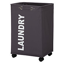 Buy Wenko Wheeled Laundry Hamper Online at johnlewis.com