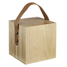 Buy John Lewis Brooklyn Wood Block Doorstop Online at johnlewis.com