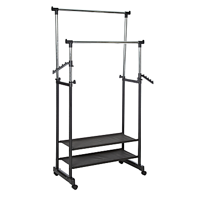 Product photo of Wenko 2 tier clothes rail