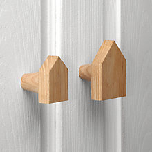 Buy John Lewis Scandi House Hanging Hook, Set of 2 Online at johnlewis.com