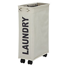 Buy Wenko Slimline Laundry Hamper Online at johnlewis.com