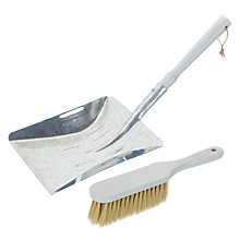 Buy John Lewis Croft Collection Dustpan and Brush Set Online at johnlewis.com