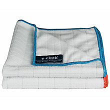 Buy e-cloth Antibacterial Kitchen Cloths, Pack of 2 Online at johnlewis.com