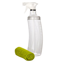Buy John Lewis Ingenious Cleaning Cloth and Spray Bottle Set Online at johnlewis.com