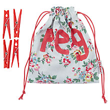 Buy Cath Kidston Filled Peg Bag, Kingswood Rose Online at johnlewis.com