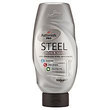 Buy Astonish Steel Cleaner, 550ml Online at johnlewis.com