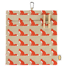 Buy Anorak Proud Fox Peg Bag Online at johnlewis.com