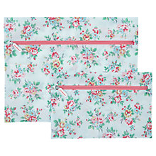 Buy Cath Kidston Set of 3 Travel Bags, Kingswood Rose Online at johnlewis.com