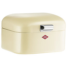 Buy Wesco Mini Grandy Storage Box, Almond Online at johnlewis.com