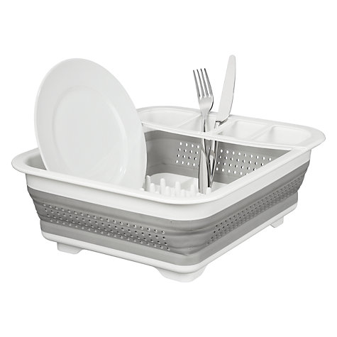Buy John Lewis Ingenious Collapsible Dish Drainer Online at johnlewis.com
