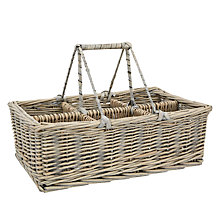 Buy John Lewis Maison Willow Caddy, Grey Wash Online at johnlewis.com