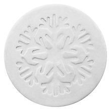 Buy John Lewis Croft Collection Snowflake Ceramic Coaster, Set of 4 Online at johnlewis.com
