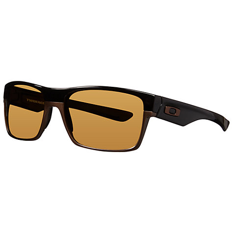 Buy Oakley OO9189 Twoface Square Sunglasses, Brown Online at johnlewis.com