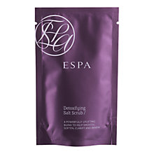 Buy ESPA Detoxifying Salt Scrub, 10 x 50g Online at johnlewis.com