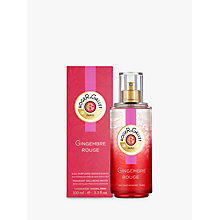Buy Roger & Gallet Gingembre Eau Fraiche Fragrant Water, 100ml Online at johnlewis.com