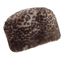 Buy John Lewis Faux Fur Cossack Hat, One Size Online at johnlewis.com