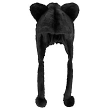 Buy John Lewis Faux Fur Trapper Hat, One Size Online at johnlewis.com