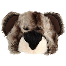 Buy John Lewis Faux Fur Bear Hat, One Size, Animal Print Online at johnlewis.com