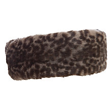 Buy John Lewis Faux Fur Headband Online at johnlewis.com