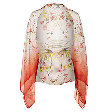 Buy Ted Baker Botanical Blooms Silk Cape, Pink Online at johnlewis.com