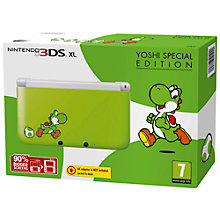 Buy Nintendo 3DS XL Yoshi Special Edition Online at johnlewis.com