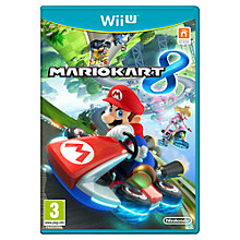Buy Mario Kart 8 with Free Game (by redemption until 31 July), Wii U Online at johnlewis.com
