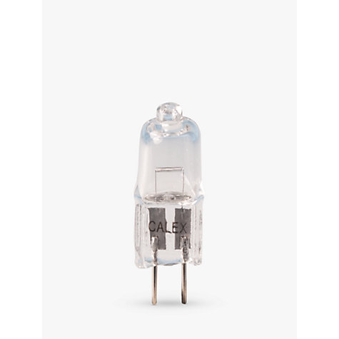 Buy Calex 20W G4 Eco Halogen Capsule Bulb, Pack of 3 Online at johnlewis.com
