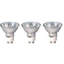 Buy Calex 40W 50mm GU10 Eco Halogen Spotlight, Pack of 3 Online at johnlewis.com
