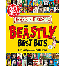 Buy Horrible Histories Beastly Best Bits Book. Paperback Edition Online at johnlewis.com