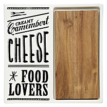 Buy John Lewis Savour Lacquered Cheese Board Online at johnlewis.com