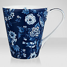 Buy V&A Garden Birds Mug, Blue Online at johnlewis.com