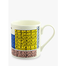 Buy Mclaggan Smith Educational Periodic Mug, 0.45L Online at johnlewis.com