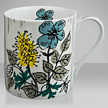 Buy V&A Joyce Badrocke Wild Flowers Mug Online at johnlewis.com