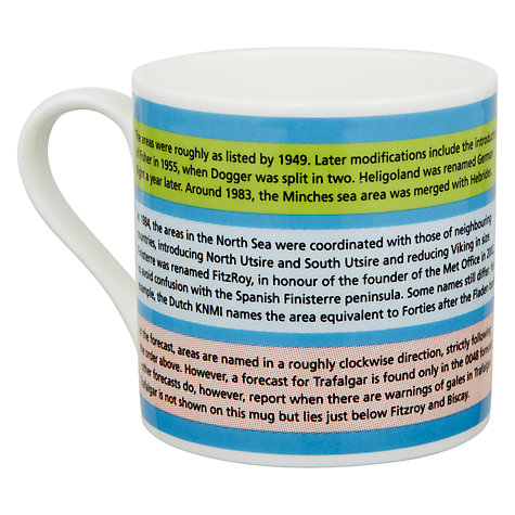 Buy Mclaggan Smith Educational Map of the Seas Mug Online at johnlewis.com