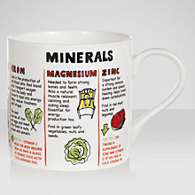 Buy Mclaggan Smith Educational Minerals Mug, 0.45L Online at johnlewis.com