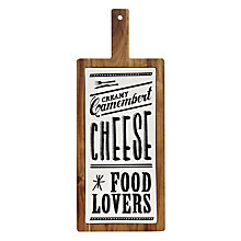 Buy John Lewis Savour Paddle Cheese Board Online at johnlewis.com