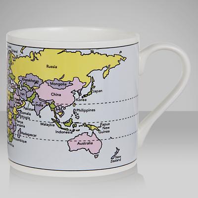 McLaggan Smith Educational World Map Mug