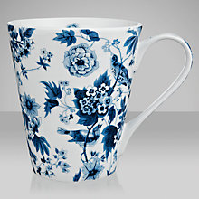 Buy V&A Garden Birds Mug, Blue & White Online at johnlewis.com