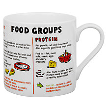 Buy Mclaggan Smith  Educational Food Groups Mug Online at johnlewis.com