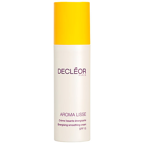 Buy Decléor Aroma Lisse Energising Smoothing Cream SPF15 Online at johnlewis.com