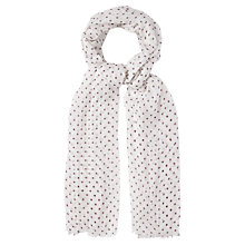 Buy White Stuff Spotty Dreaming Away Scarf Online at johnlewis.com