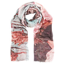 Buy Kaliko Rose Print Scarf, Multi Online at johnlewis.com