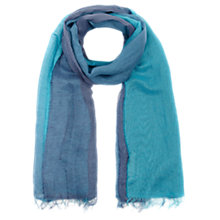 Buy Jigsaw Skyla Scarf, Indigo Online at johnlewis.com