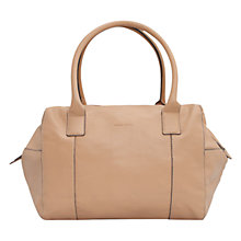 Buy Mango Pebble Bowling Bag, Nude Online at johnlewis.com